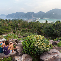 Viewpoint in Koh Phi Phi.