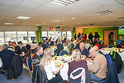 VIP dining during the EFL Sky Bet League 2 match between Forest Green Rovers and Yeovil Town at the New Lawn, Forest Green, United Kingdom on 16 February 2019.