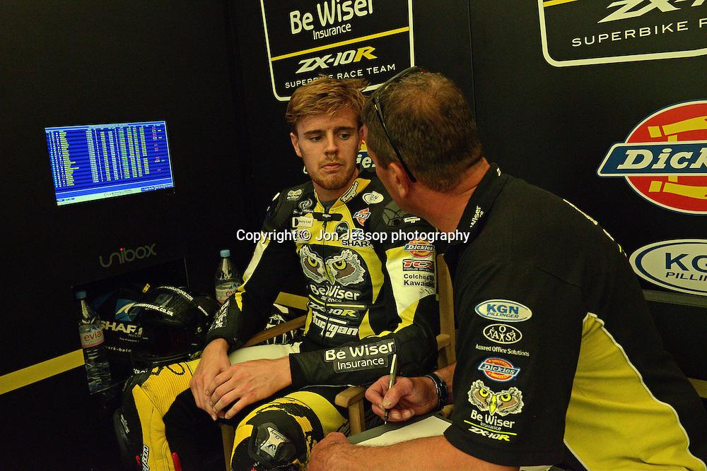 #83 Danny Buchan Be Wiser Kawasaki MCE British Superbikes