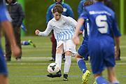 06.05.2017; Zuerich; <br /> Fussball FCZ Academy - FC Zuerich FE13 Oberland_FE13 TBOE; <br /> Demian Gugger (Zuerich) <br /> (Andy Mueller/freshfocus)