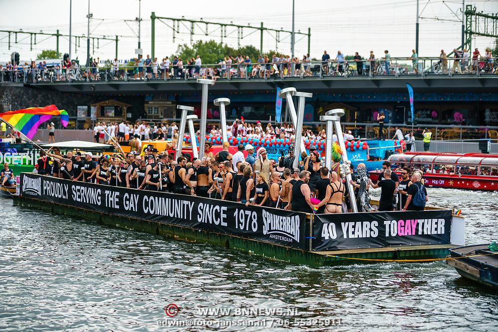 NLD/Amsterdam/20180604 - Gaypride 2018,