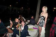 MARTINA CASTOLDI , Visionaire party. Delano  Hotel.  Miami Art Basel 2011. 2December 2011.