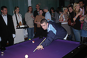 "Official Pre-Brit Awards 2005 Pool Tournament"" at The Sanderson Hotel February 8, 2005 in London. The party is hosted by Esquire Magazine ONE TIME USE ONLY - DO NOT ARCHIVE  © Copyright Photograph by Dafydd Jones 66 Stockwell Park Rd. London SW9 0DA Tel 020 7733 0108 www.dafjones.com"