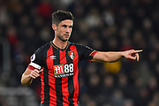 Andrew Surman (6) of AFC Bournemouth pointing during the Premier League match between Bournemouth and Chelsea at the Vitality Stadium, Bournemouth, England on 30 January 2019.