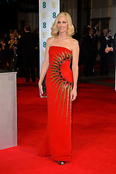 Joely Richardson attends the EE British Academy Film Awards in 2014. The Royal Opera house, London, United Kingdom. Sunday, 16th February 2014. Picture by Chris Joseph / i-Images
