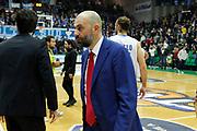 Buscaglia Maurizio<br /> De'Longhi Treviso vs Grissin Bon Reggio Emilia<br /> Legabasket SerieA 2019-2020<br /> Treviso (TV), 08/12/2019<br /> Foto  Ciamillo-Castoria <br /> Delusione