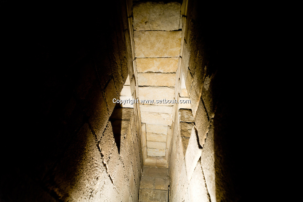 Egypt. Cairo - discovery of a MAMELOUK PALACE under the Mosque SULTAN HASSAN islamic Cairo +