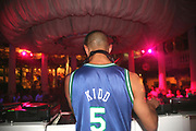 Alex Kidd DJing at Es Paradis, Ibiza, 2006