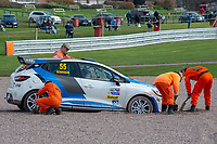 #55 Paul RODDISON Renault Clio Cup  during Armed Forces Race Challenge  as part of the 750 Motor Club at Oulton Park, Little Budworth, Cheshire, United Kingdom. April 14 2018. World Copyright Peter Taylor/PSP.
