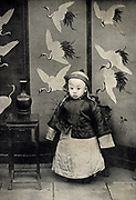 Pu-Yi (Hsuan T'ung) 1906-1967. Last Emperor of China 1908-1912. Picture published 1910.