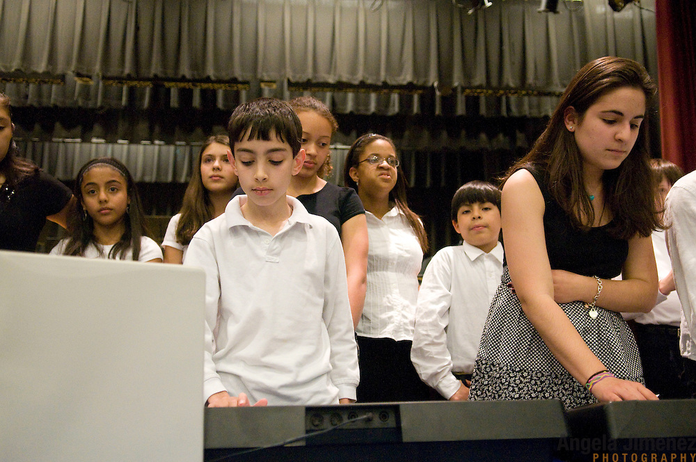The spring Project Music concert is photographed in Stamford, Connecticut on May 7, 2010. ..Photo by Angela Jimenez .www.angelajimenezphotography.com