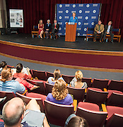 News conference to announce the launch of the Futures Academy of Health Science Careers at Westside High School, July 30, 2013.