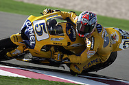 American Colin Edwards, Commercial Bank Grand Prix of Qatar, MOTO GP class, Losail International Circuit, 8 April 2006