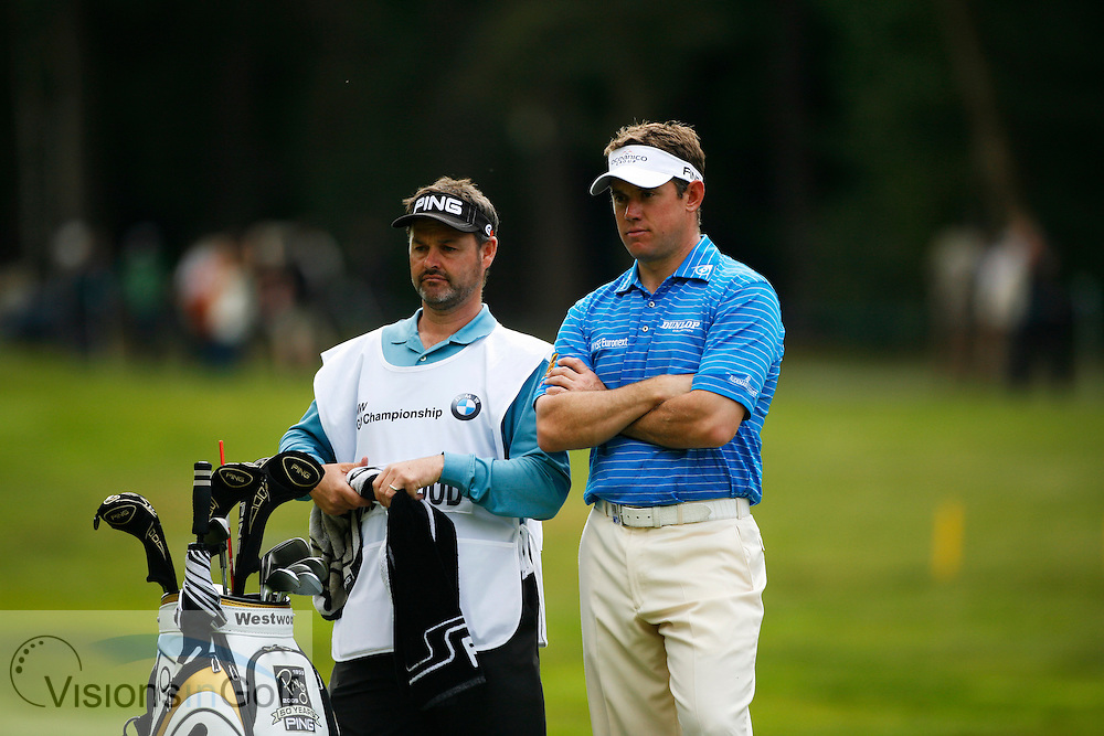 Lee Westwood<br /> at the BMW PGA Championship 2009, Wentworth, Surrey, UK<br /> Picture Credit: Mark Newcombe / visionsingolf.com