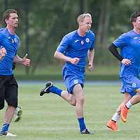 St Johnstone Pre-Season Training...07.07.14<br /> Steven Anderson during a running exercise alongside Michael O'Halloran, Gary McDonald and Scott Brown<br /> Picture by Graeme Hart.<br /> Copyright Perthshire Picture Agency<br /> Tel: 01738 623350  Mobile: 07990 594431