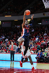 NORMAL, IL - December 08: Terence Davis during a college basketball game between the ISU Redbirds and the University of Mississippi (Ole Miss) Rebels on December 08 2018 at Redbird Arena in Normal, IL. (Photo by Alan Look)