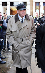 Actor Nicholas Lyndhurst who played Rodney  in TV show Only Fools and Horses arriving for the funeral of Roger Lloyd-Pack who played Trigger in the show,  at St.Paul's Church in  London, Thursday, 13th February 2014. Picture by Stephen Lock / i-Images