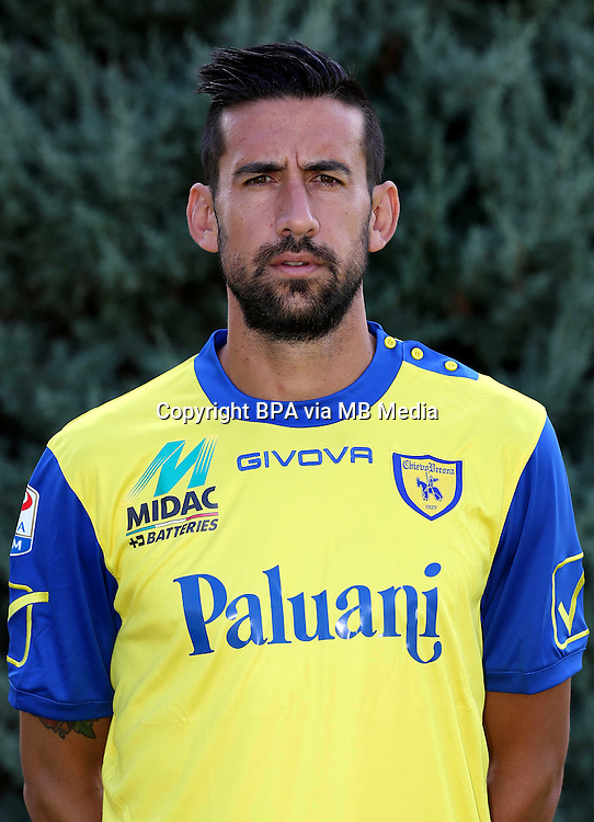 Italian League Serie A -2016-2017 / <br /> ( AC Chievo Verona  ) - <br /> Nicolas Federico Spolli &quot; Nicolas Spolli &quot;
