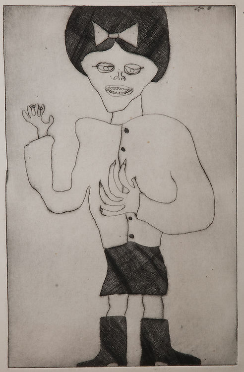 TEENAGER, etching 1964