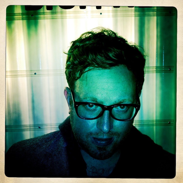 """Lucas Buick is the CEO of Synthetic, the company that makes the """"Hipstamatic"""" iPhone app. Synthetic held a press conference to announce several new products at its """"Haus of Hipstamatic"""" headquarters in San Francisco, Calif. on Tuesday, Dec. 13, 2011."""