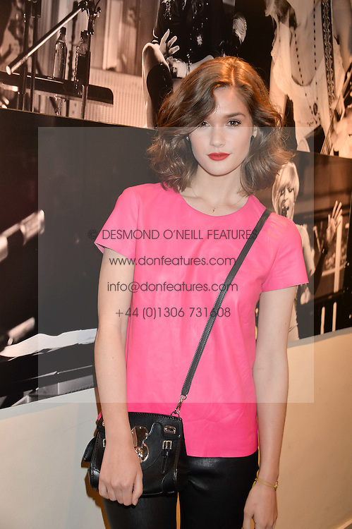 SAI BENNETT at an exclusive showing of the Ralph Lauren Collection Spring 2014 Runway Collection held at the legendary Abbey Road Studios, Abbey Road, London NW8 on 21st May 2014.