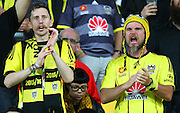 Fans during the Round 22 A-League football match - Wellington Phoenix V Adelaide United at Westpac Stadium, Wellington. Saturday 5th March 2016. Copyright Photo.: Grant Down / www.photosport.nz