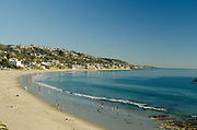 Shoreline of Laguna Beach California