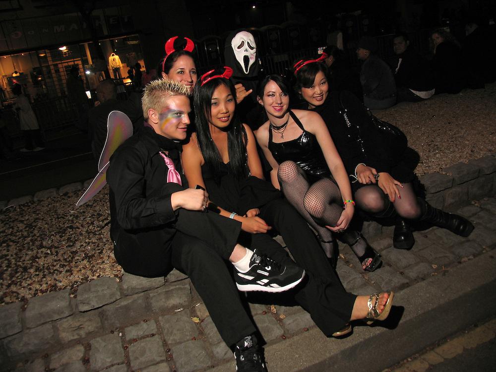 Halloween in The Castro, San Francisco, CA.