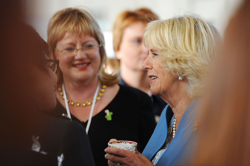 Camilla, Duchess of Cornwall visits the Wellington SPCA and speaks with staff and volunteers, Wellington, New Zealand, Saturday, November 07, 2015. Credit:SNPA / Getty, Mark Tantrum **POOL**