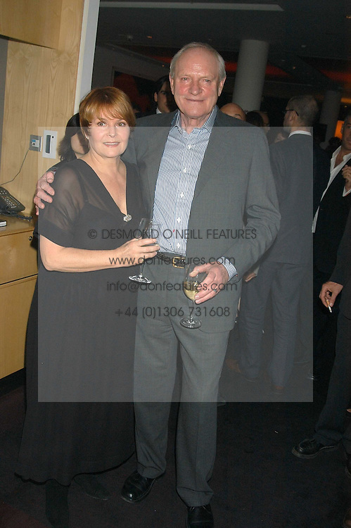 Actor JULIAN GLOVER and ISLA BLAIR at an after show party following the opening of the Old Vic's production of Richard 11 held at the City Inn, 30 John Islip Street, London W1 on 5th October 2005.<br /><br />NON EXCLUSIVE - WORLD RIGHTS