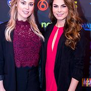 NLD/Amsterdam/20171123 - Presentatie SBS 2017, Celine Huisman en Lisa Michels