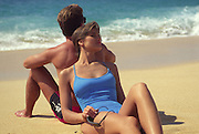 Couple on beach<br />
