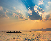 A glorious time watching the sun set over the fishermen on Lake Inle, A part of the world facing major change. yet the people remain stoic and hugely friendly to visitors who make it out to see them