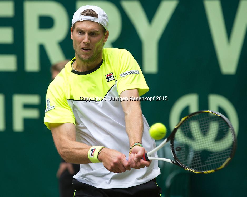 Andreas Seppi (ITA)<br /> <br /> Tennis - Gerry Weber Open - ATP 500 -  Gerry Weber Stadion - Halle / Westf. - Nordrhein Westfalen - Germany  - 21 June 2015. <br /> &copy; Juergen Hasenkopf