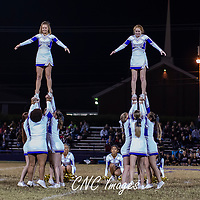 11-04-16 BHS Cheerleaders vs Huntsville