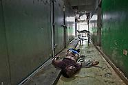 Morgue in Port-au-Prince