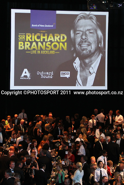 Duco Event, Sir Richard Branson Live in Auckland, Viaduct Events Centre,  Auckland, New Zealand. Thursday 20 October 2011. Photo: Simon Watts / photosport.co.nz