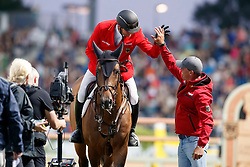 Tebbel, Maurice (GER);<br /> Tebbel, Rene (UKR) Chaccos´ Son<br /> Aachen - CHIO 2017<br /> © www.sportfotos-lafrentz.de/Stefan Lafrentz