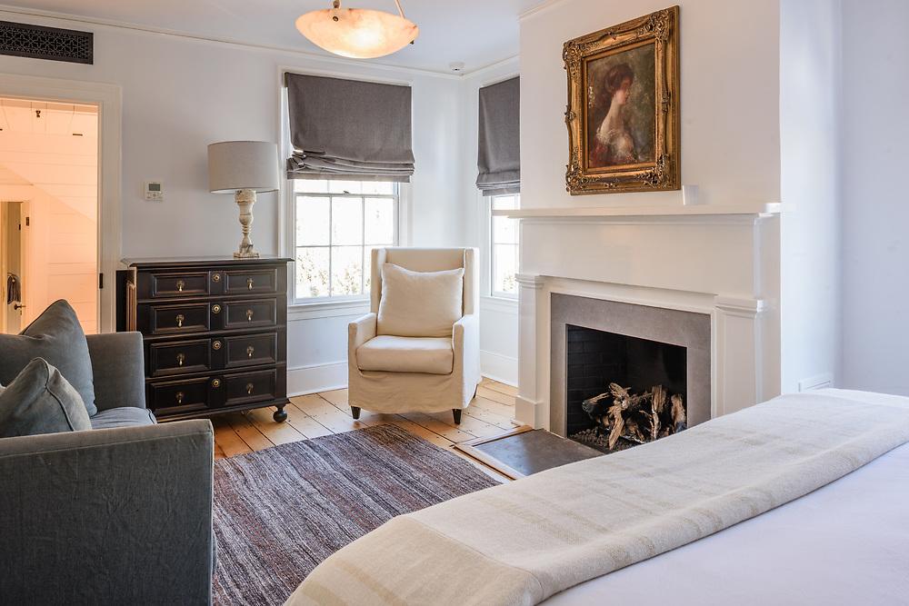 Greek Revival mansion was built for whaling merchant Charles T. Dering ca. 1835. Hampton St, Sag Harbor, NY