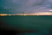 The New Waterway canal and Port of Rotterdam on the background. © Holland Kodak Ektar series