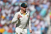 Steve Smith of Australia during the 5th International Test Match 2019 match between England and Australia at the Oval, London, United Kingdom on 14 September 2019.