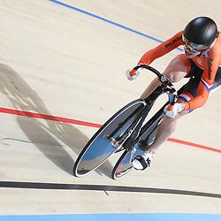 18-12-2016: Wielrennen: NK baanwielrennen: Apeldoorn<br /> APELDOORN (NED) wielrennen <br /> Laurine van Riessen in actie op de 500meter kwalificatie