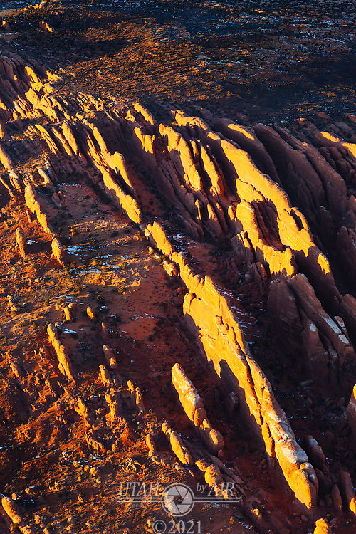 Fiery Furnace area of Arches National Park