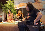 Berlin, Germany - 18 October 2012<br /> Porn star Ron Jeremy promoting his 'Ron Jeremy' brand of rum at the Venus Berlin 2012 adult industry exhibition in Berlin, Germany. Ron Jeremy, born Ronald Jeremy Hyatt, has been an American pornographic actor since 1979. He faces sexual assault allegations which he strenuously denies. There is no suggestion that any of the people in these pictures have made any such allegations.<br /> www.newspics.com/#!/contact<br /> (photo by: EQUINOXFEATURES.COM)<br /> Picture Data:<br /> Photographer: Equinox Features<br /> Copyright: &copy;2012 Equinox Licensing Ltd. +448700 780000<br /> Contact: Equinox Features<br /> Date Taken: 20121018<br /> Time Taken: 12075205