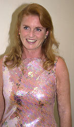 SARAH, DUCHESS OF YORK at a dinner in London<br />  on 20th June 2000.OFO 105<br /> © Desmond O'Neill Features:- 020 8971 9600<br />    10 Victoria Mews, London.  SW18 3PY <br /> www.donfeatures.com   photos@donfeatures.com<br /> MINIMUM REPRODUCTION FEE AS AGREED.<br /> PHOTOGRAPH BY DOMINIC O'NEILL
