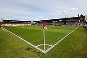 St James Park before the Sky Bet League 2 match between Exeter City and Morecambe at St James' Park, Exeter, England on 30 April 2016. Photo by Graham Hunt.