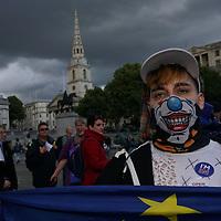 The Citizens' Rally in Trafalgar Square
