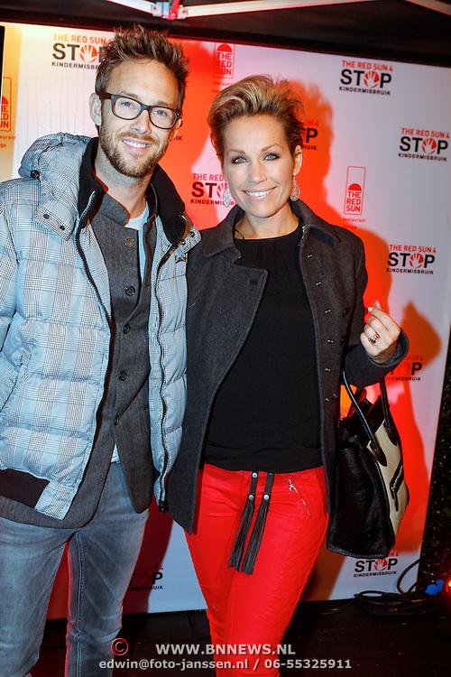 NLD/Blaricum/20121104 - Benefietavond The Red Sun Blaricum  t.b.v. Stop Kindermisbruik, Tanja Jess en Charlie Luske