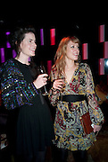 LADY LAURA CATHCART; EMMA WIGAN, The Tatler Little Black Book party. Chinawhite club. London. 21 November 2009