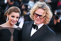 Clotilde Courau and Peter Dundas at The Immigrant film gala screening at the Cannes Film Festival Friday 24th May May 2013